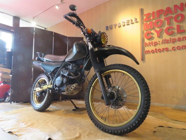 「□HONDA XLR250 MD16 ホンダ 250cc グリーン ミリタリー 実動! タイヤバリ山! 自賠R7.6 オフロード バイク 札幌発」の画像3