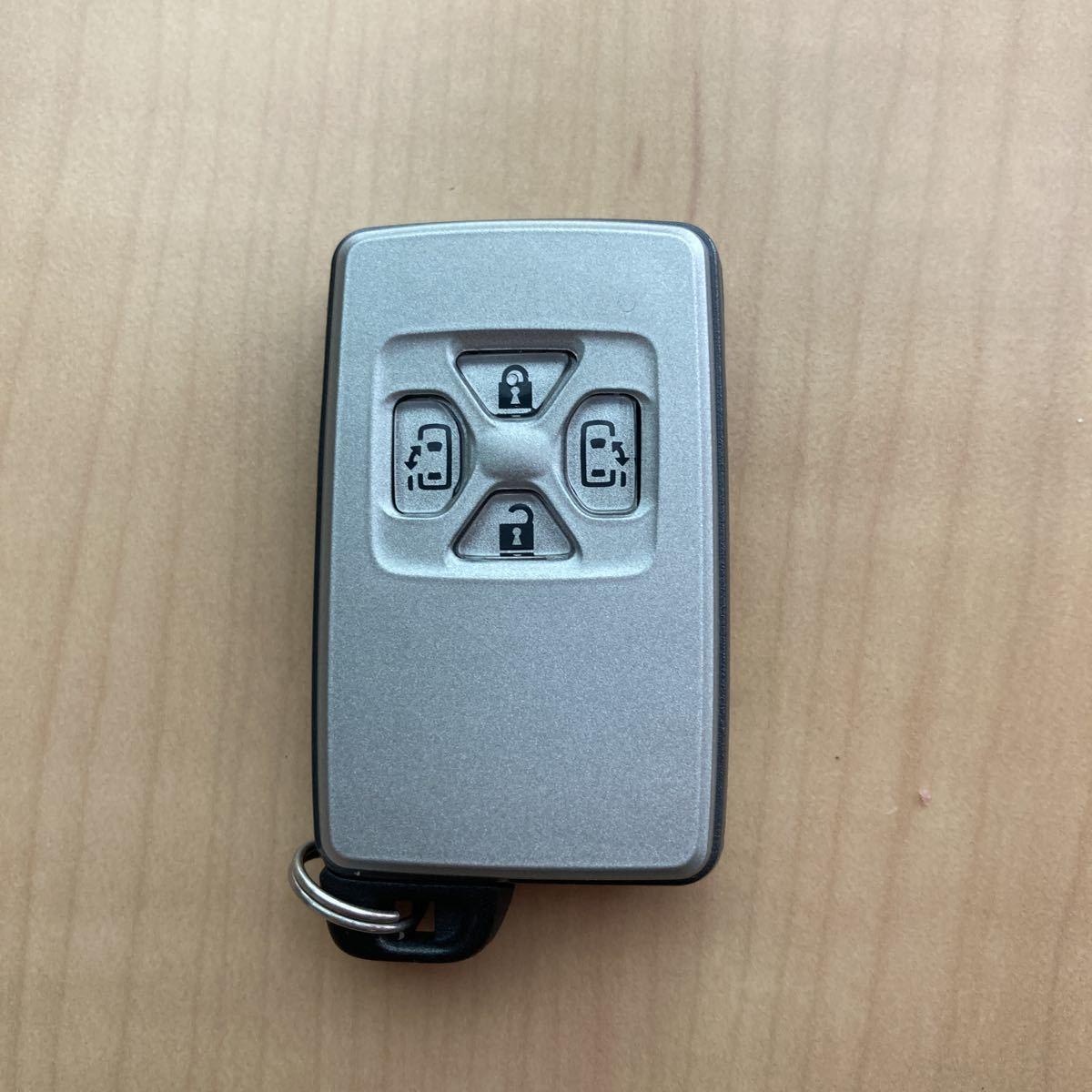 トヨタ アルファード ANH20 両側パワスラ キーレス スマートキー 鍵_画像1