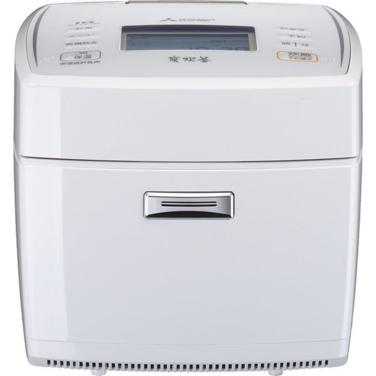 三菱電機 備長炭 炭炊釜 備長炭コート2層厚釜 七重全面加熱IHジャー炊飯器