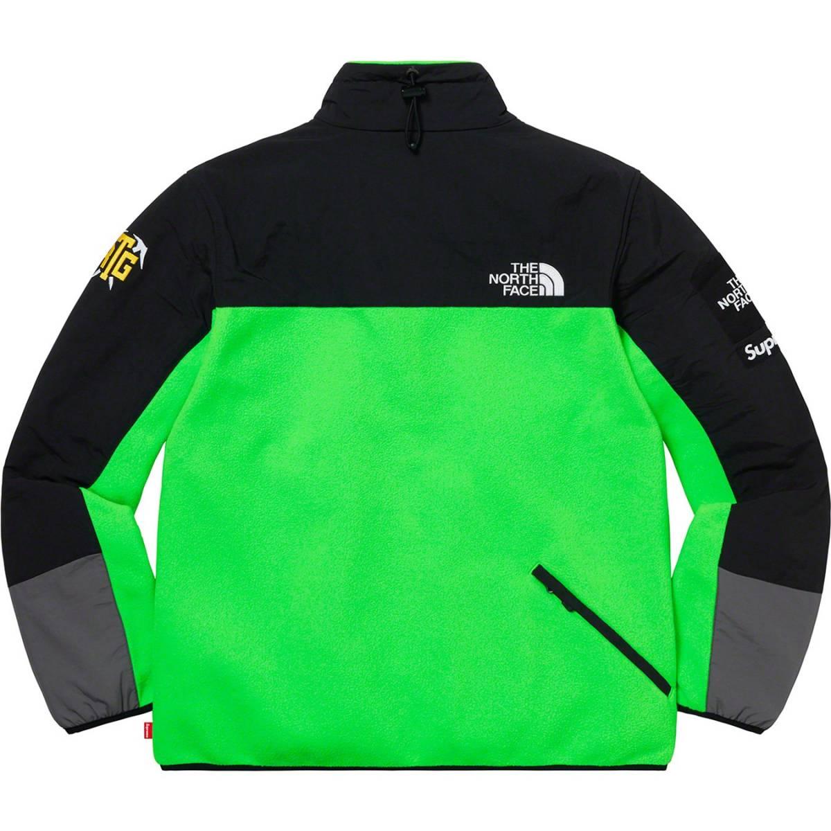 Supreme The North Face RTG Fleece Jacket 緑 BrightGreen Sサイズ 国内正規購入 タグ有 シュプリーム ノースフェイス フリースジャケット_画像6