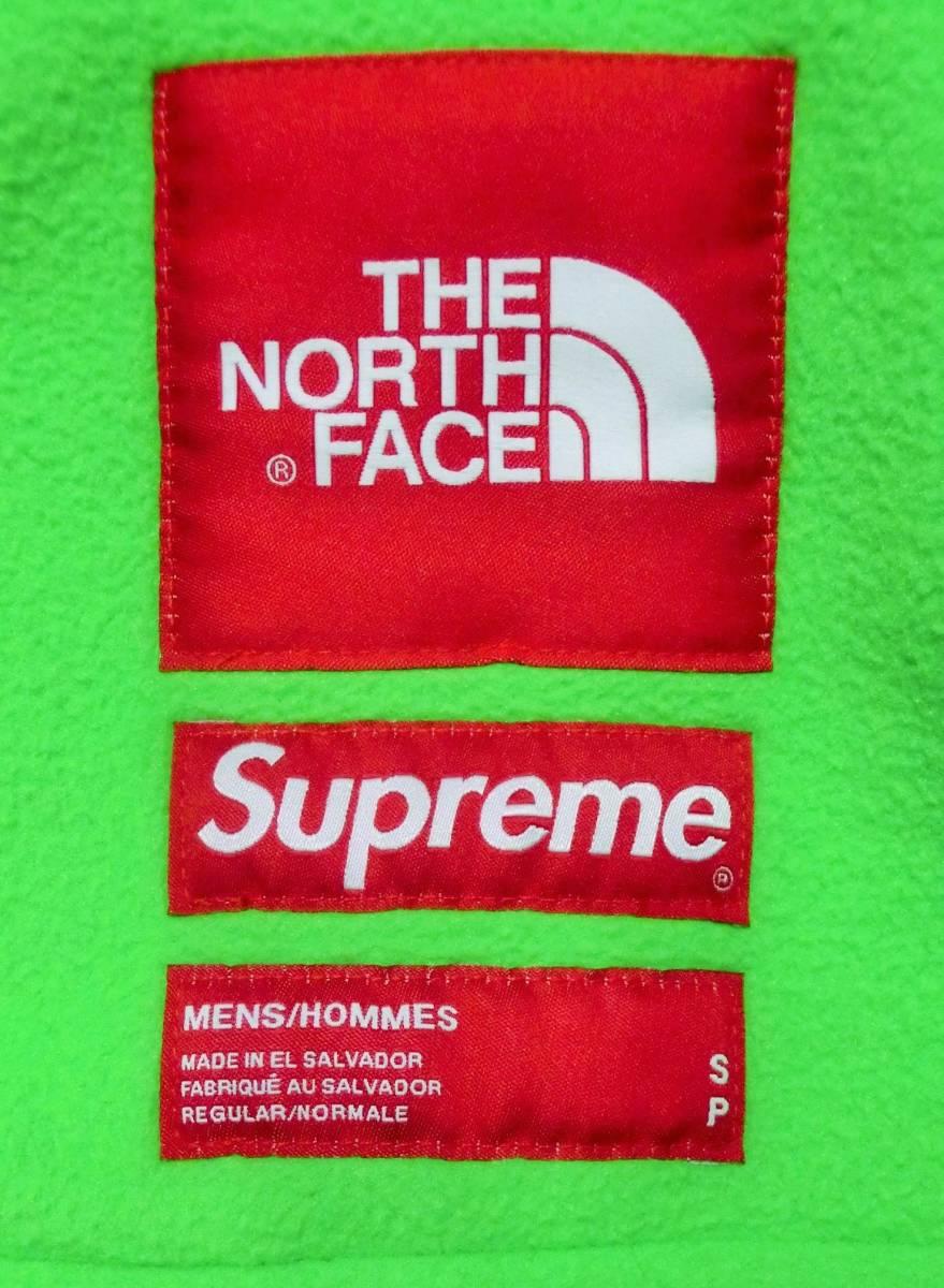 Supreme The North Face RTG Fleece Jacket 緑 BrightGreen Sサイズ 国内正規購入 タグ有 シュプリーム ノースフェイス フリースジャケット_画像2
