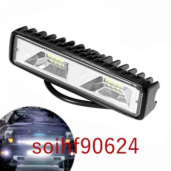 SoA18:ledヘッドライトバー電球スポットビーム 車オフロードドライビングフォグランプ 18ワット12v 6500 18kライ_画像6