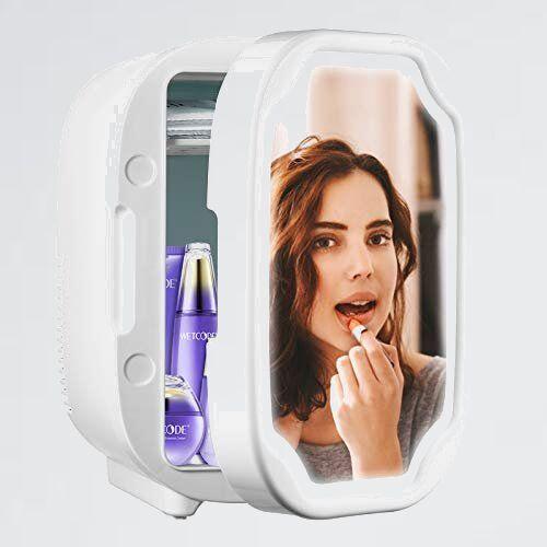 好評 新品 ODIKALA P-46 家庭用 便利な携帯式 8L 化粧品 ポ-タブル 小型 ミニ冷蔵庫・保冷用 2電源式 小型冷蔵庫 冷蔵庫 コンパクト_画像1