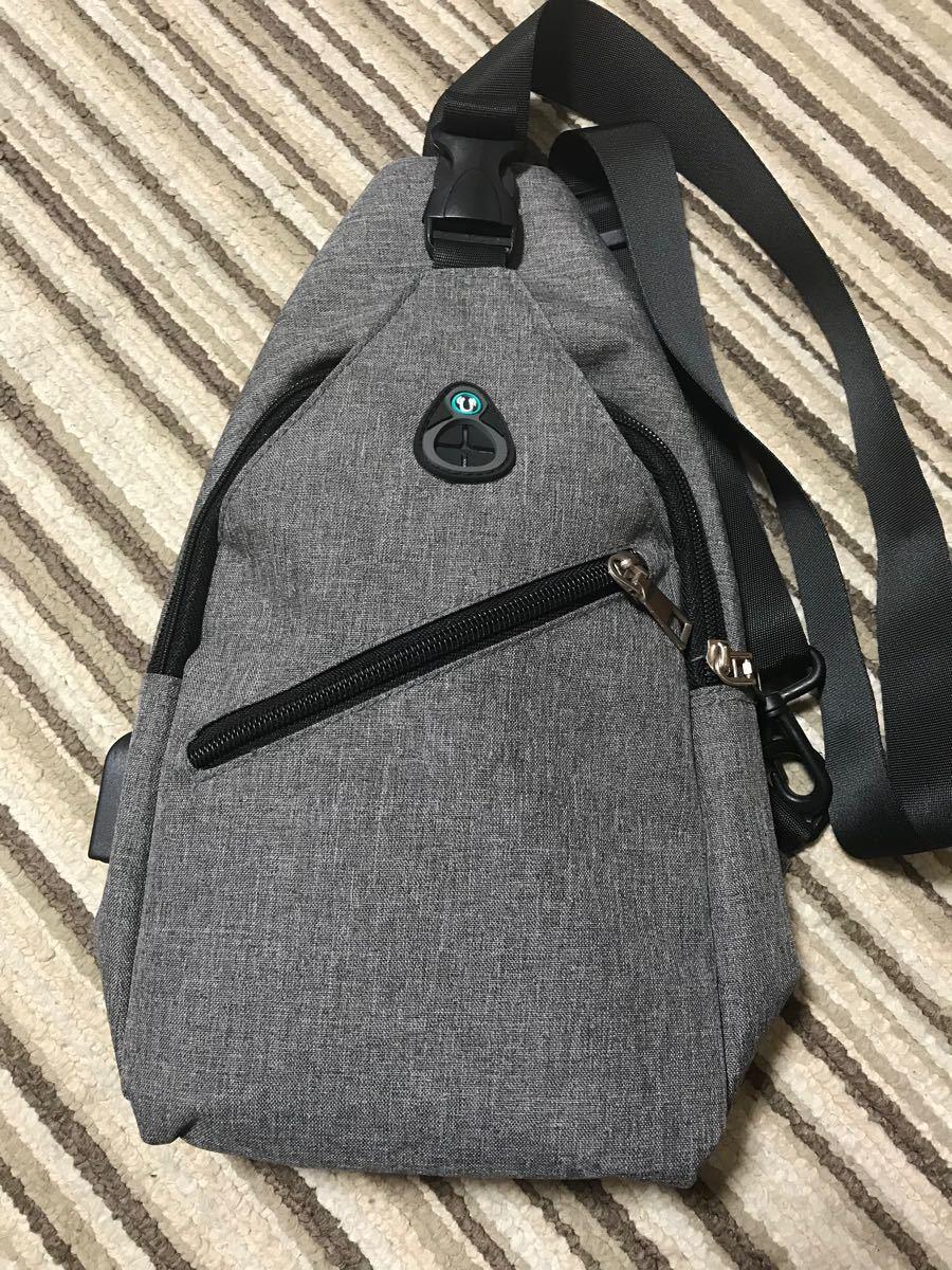 バッグで携帯充電 ショルダーバッグ ボディバッグ かばん 斜め掛け メンズ モバイルバッテリー