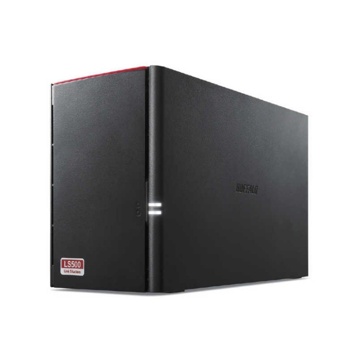 BUFFALO 2ベイ8TBネットワークHDDバッファローLS520D0802G リンクステーションLinkStation NAS