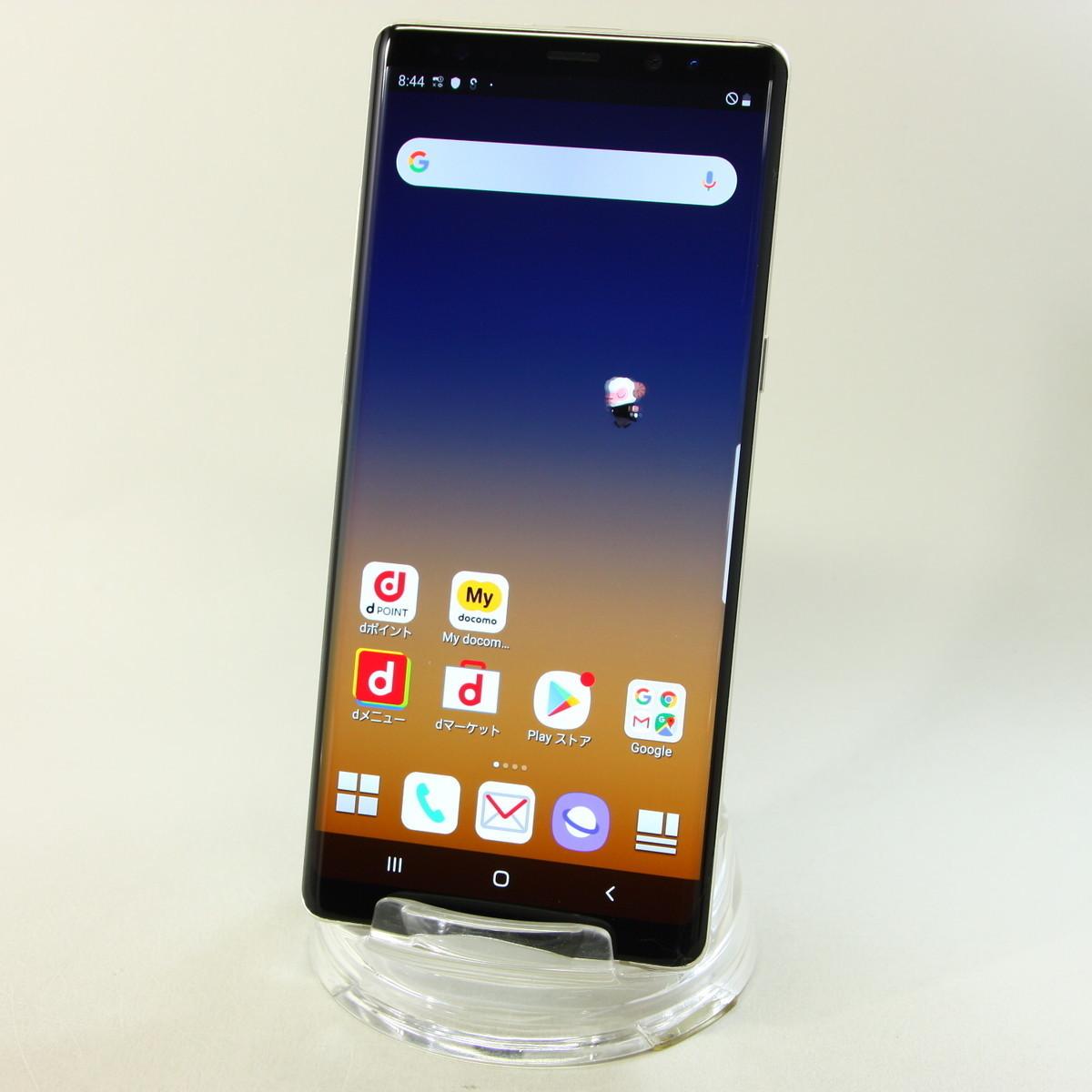 サムスン Galaxy Note8 SC-01K Maple Gold ■ドコモ★Joshin7629【送料無料・1円】