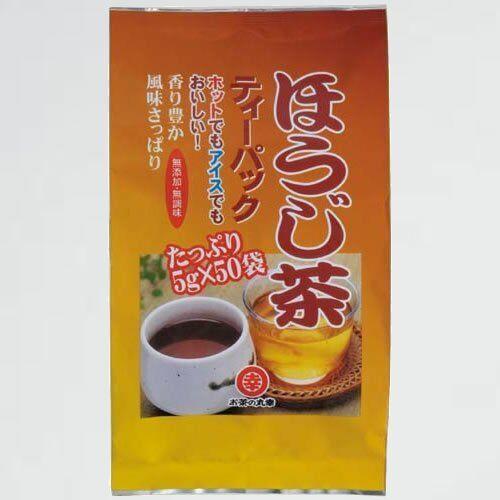 新品 目玉 ほうじ茶ティ-バッグ お茶の丸幸 V-80 5g×50包_画像1
