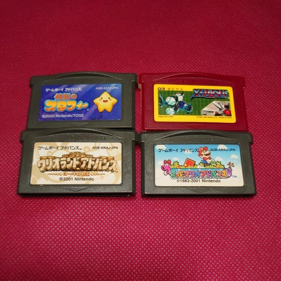 ゲームボーイアドバンスソフト4枚セット GBA