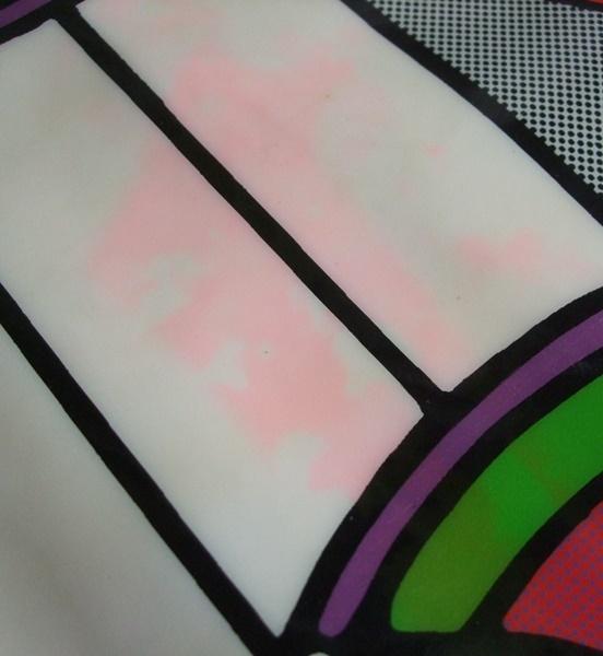 当時物 ビンテージ Peter Max ピーターマックス hello ビニール製 エアークッション VINTAGE 60s 70s ディスプレイ インテリア US雑貨 _画像6