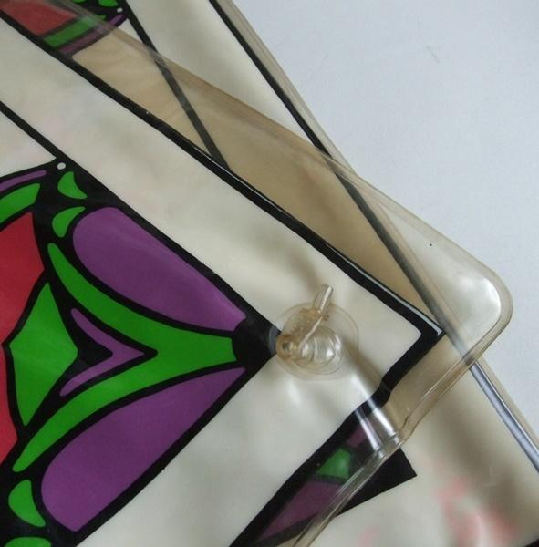 当時物 ビンテージ Peter Max ピーターマックス hello ビニール製 エアークッション VINTAGE 60s 70s ディスプレイ インテリア US雑貨 _画像8