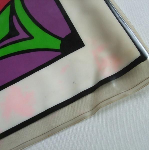 当時物 ビンテージ Peter Max ピーターマックス hello ビニール製 エアークッション VINTAGE 60s 70s ディスプレイ インテリア US雑貨 _画像7