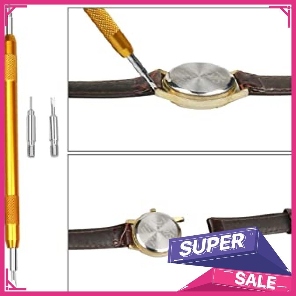 新品黒色 時計工具 時計修理 電池交換 腕時計ベルト調整 バンド調整 時計道具セット 時計用工具 収納便利 腕時XXBV_画像6