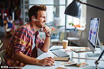 黒い Bluetoothヘッドセット5.0 ワイヤレスブルートゥースヘッドセット高音質片耳内蔵マイクBluetoothイヤホンビ_画像7