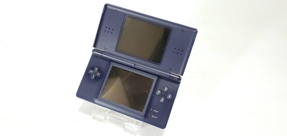 【1円~】Nintendo/任天堂 USG-001 ニンテンドー DS Lite エナメルネイビー ゲーム機