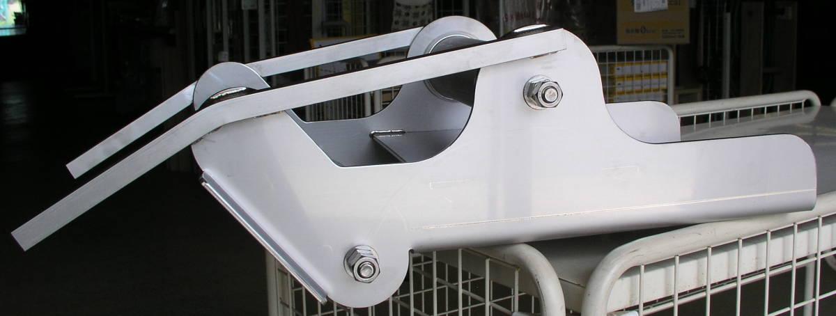 「新型製作 オートイカリ アンカーデービット ONK-2強力タイプ改 オールステンレス アンカーローラー 」の画像2