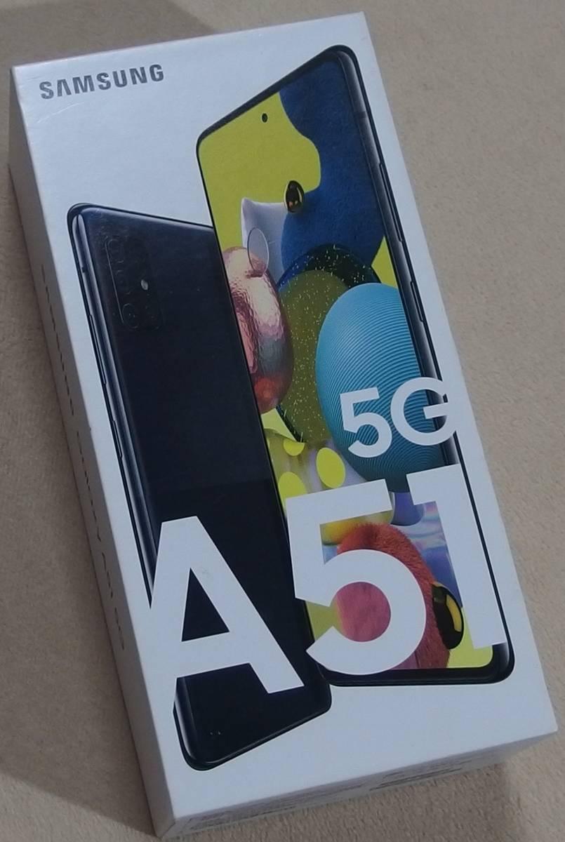 未使用品同様 Galaxy A51 5G 6.5' Ram6GB/Rom128GB Dual Sim Free 台湾版