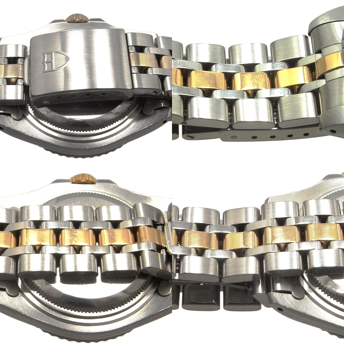チュードル プリンスデイト ミニサブ 73193 自動巻き オートマ ゴールド文字盤 コンビ YG/SS ボーイズ チューダー TUDOR MINI-SUB_画像4