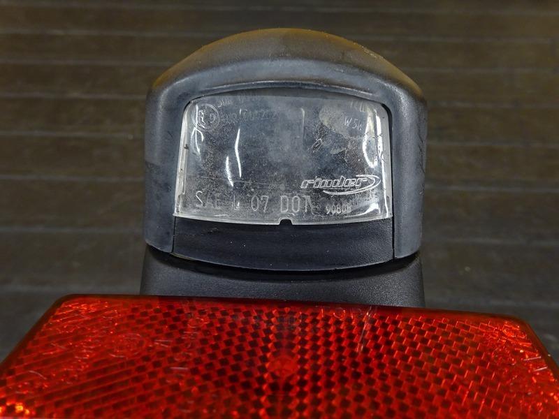 【210601】Ninja250(EX250L-A28)◇ リアフェンダー ナンバーホルダー ナンバー灯 【NINJA ニンジャ_画像3