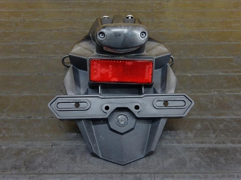 【210601】Ninja250(EX250L-A28)◇ リアフェンダー ナンバーホルダー ナンバー灯 【NINJA ニンジャ_画像2