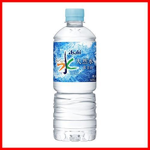 2Pc 新品 600ml×24本 アサヒ飲料 迅速対応 おいしい水 富士山 600ml&times24本_画像1