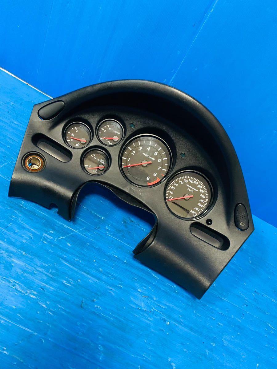 希少 マツダ Rx7 FD3S 後期 純正 傷なし マツダスピード 300kmスピードメーター フルスケールメータ 動作確認済み 良品