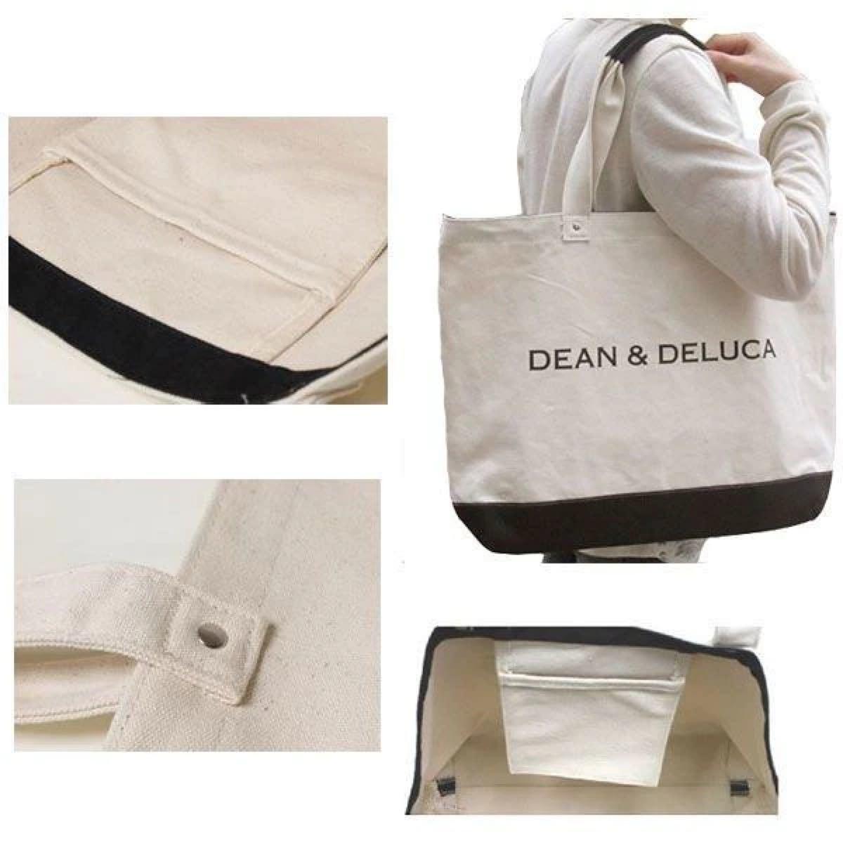 DEAN&DELUCA キャンバストートバッグ トートバッグ エコバッグ ディーンアンドデルーカ ディーン&デルーカ
