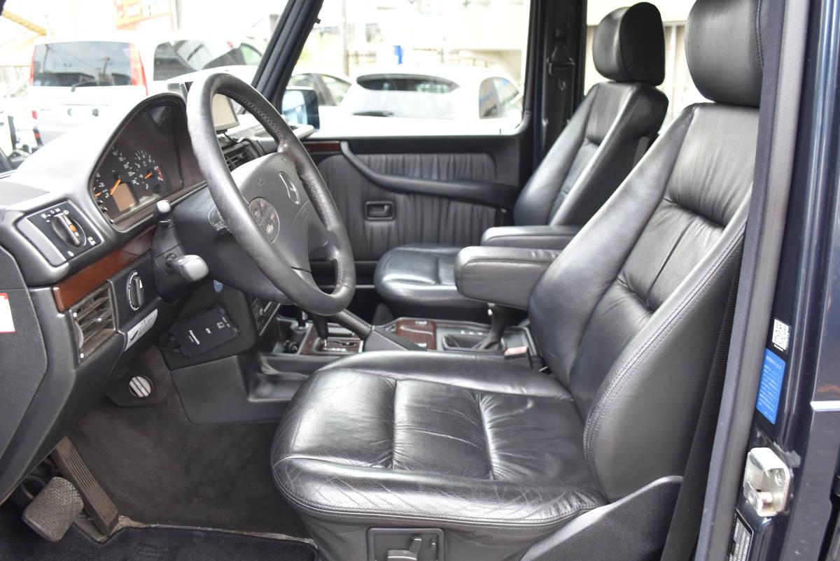 諸0円!W463 旧インテリア 最終 G320 エメブラ 7人乗 フルオリジナル 機関好調 車検2年付 クリアガラス ゲレンデ Gクラス ディーラー車_現車確認可!カスタムもお任せください。