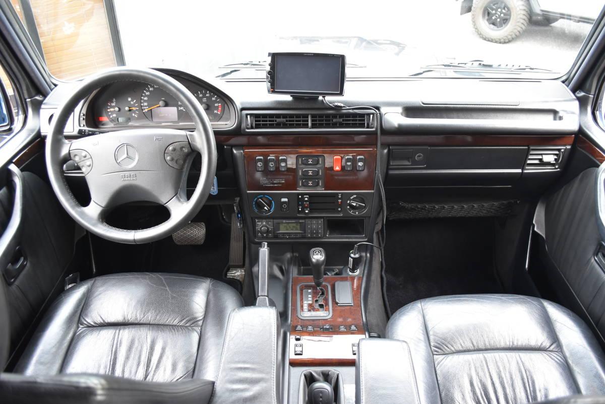 諸0円!W463 旧インテリア 最終 G320 エメブラ 7人乗 フルオリジナル 機関好調 車検2年付 クリアガラス ゲレンデ Gクラス ディーラー車_故障の少ない旧インテリア最終モデル!