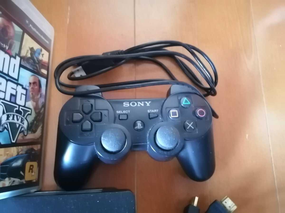 お買い得 すぐに遊べる PS3 本体 CECH-3000A 黒 SONY プレイステーション3 PlayStation3 HDMI 本体一式 ソフト7本セット ウイイレシリーズ