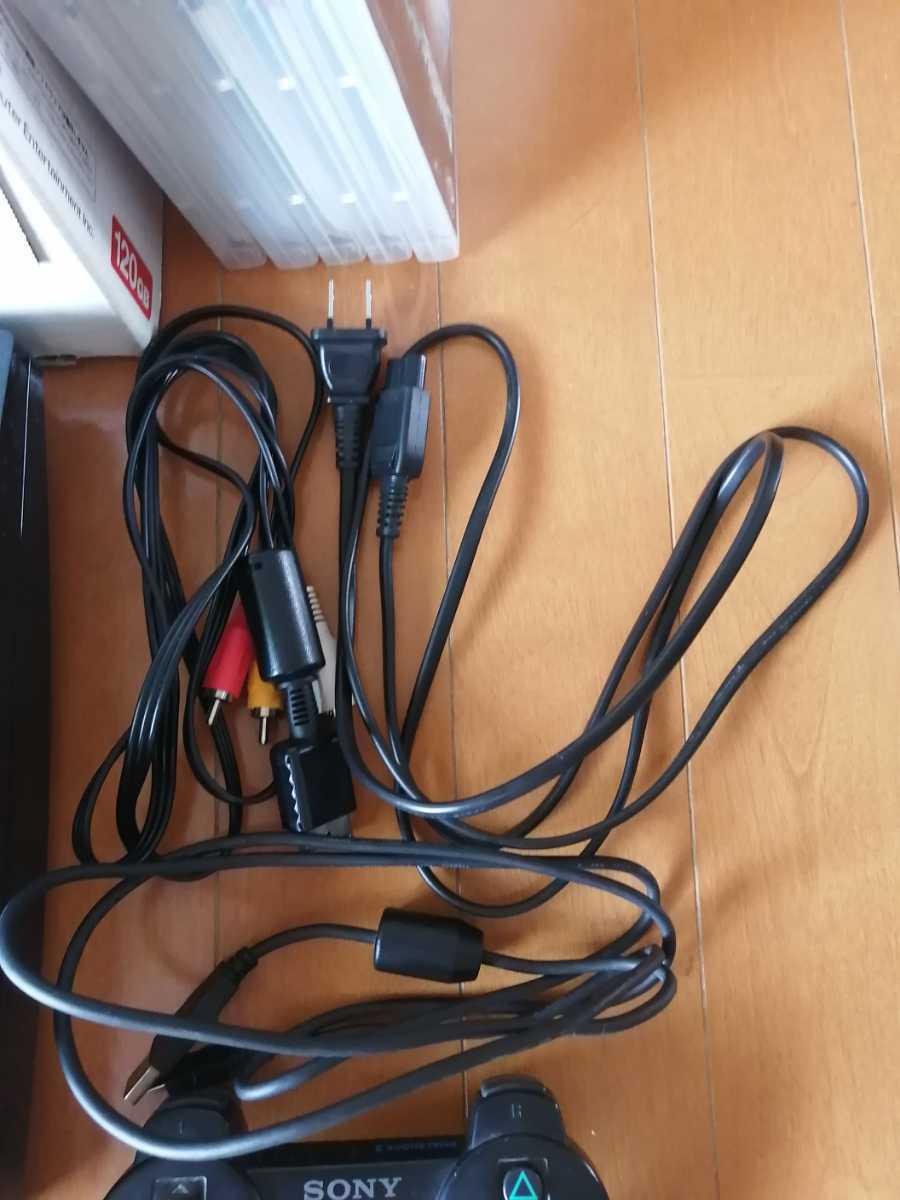 お買い得 美品 PS3 CECH-2100A 黒 SONY プレイステーション3 PlayStation3 本体一式 ソフト5本セット 龍が如く1~4 メタルギア