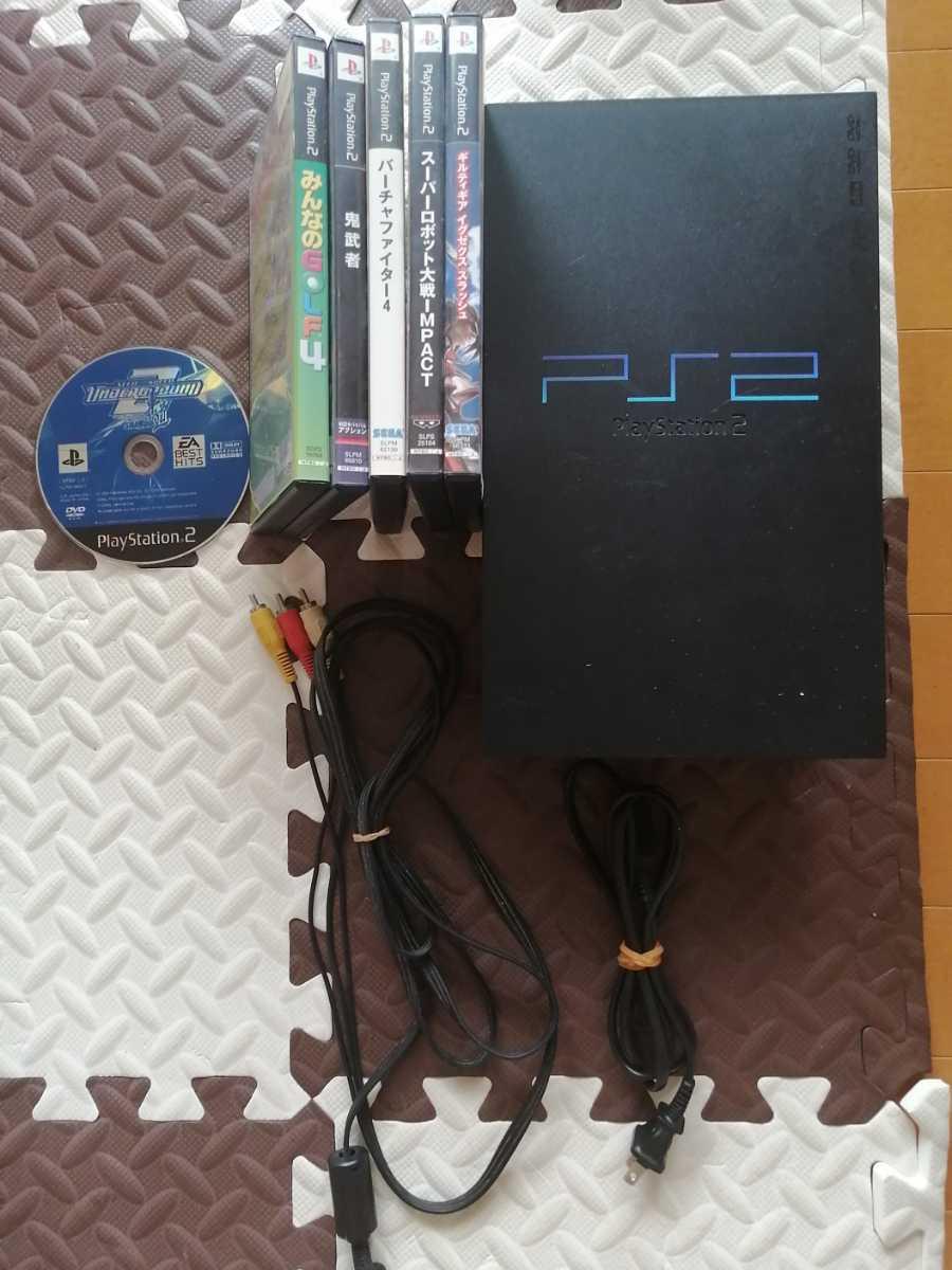 SONY PS2 プレステ2 プレイステーション2 PlayStation2 本体 ソフトセット
