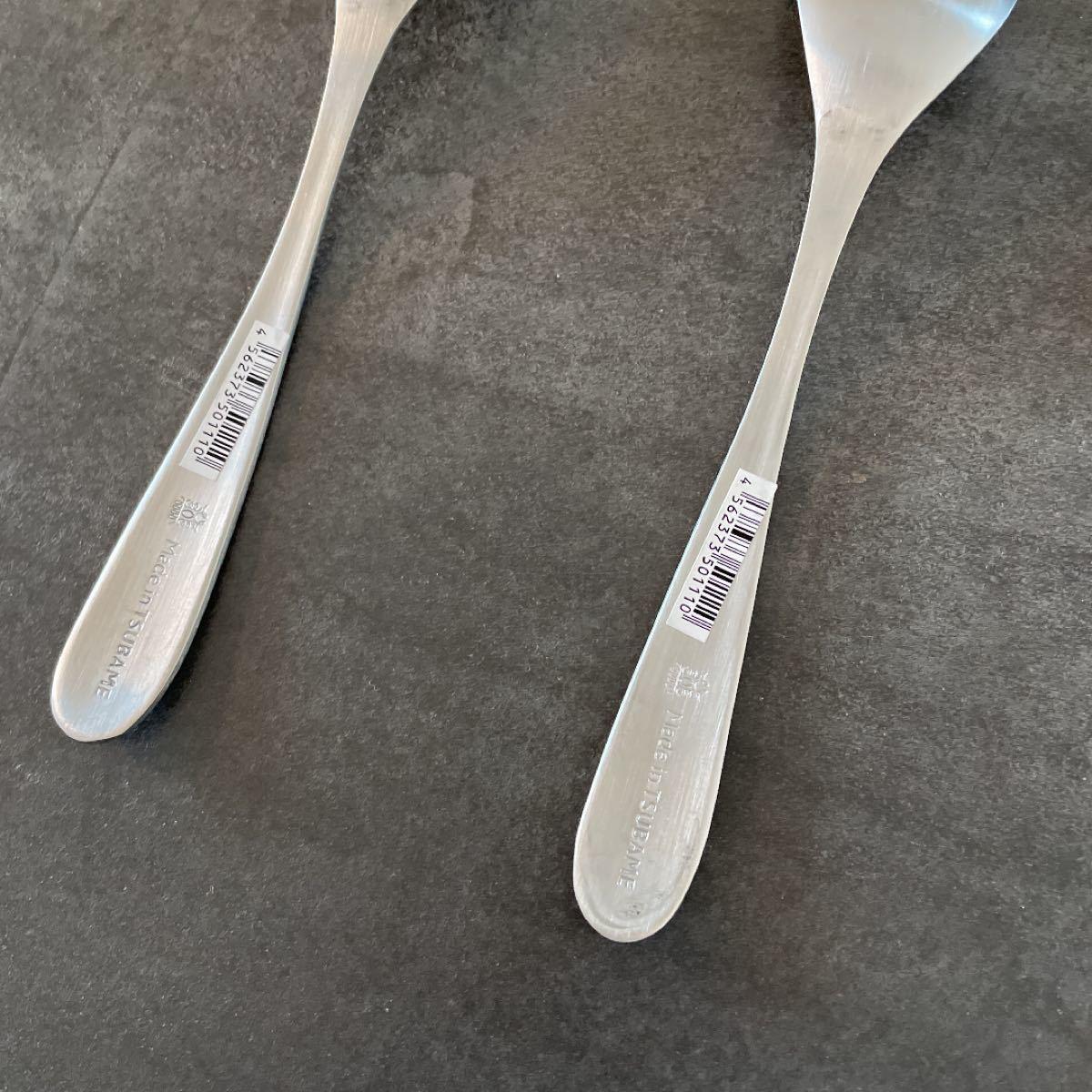 ツバメカトラリー 4本セット スプーン大 新品未使用 made in tsubame 燕