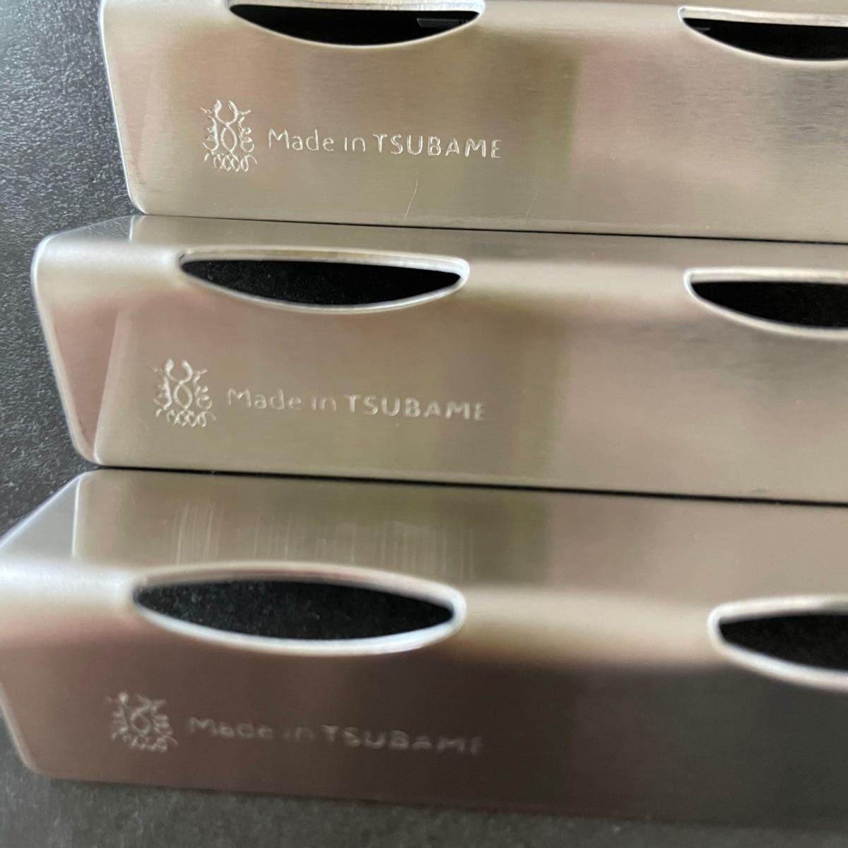 ツバメカトラリー カトラリーレスト 4個セット 新品未使用 made in tsubame 燕