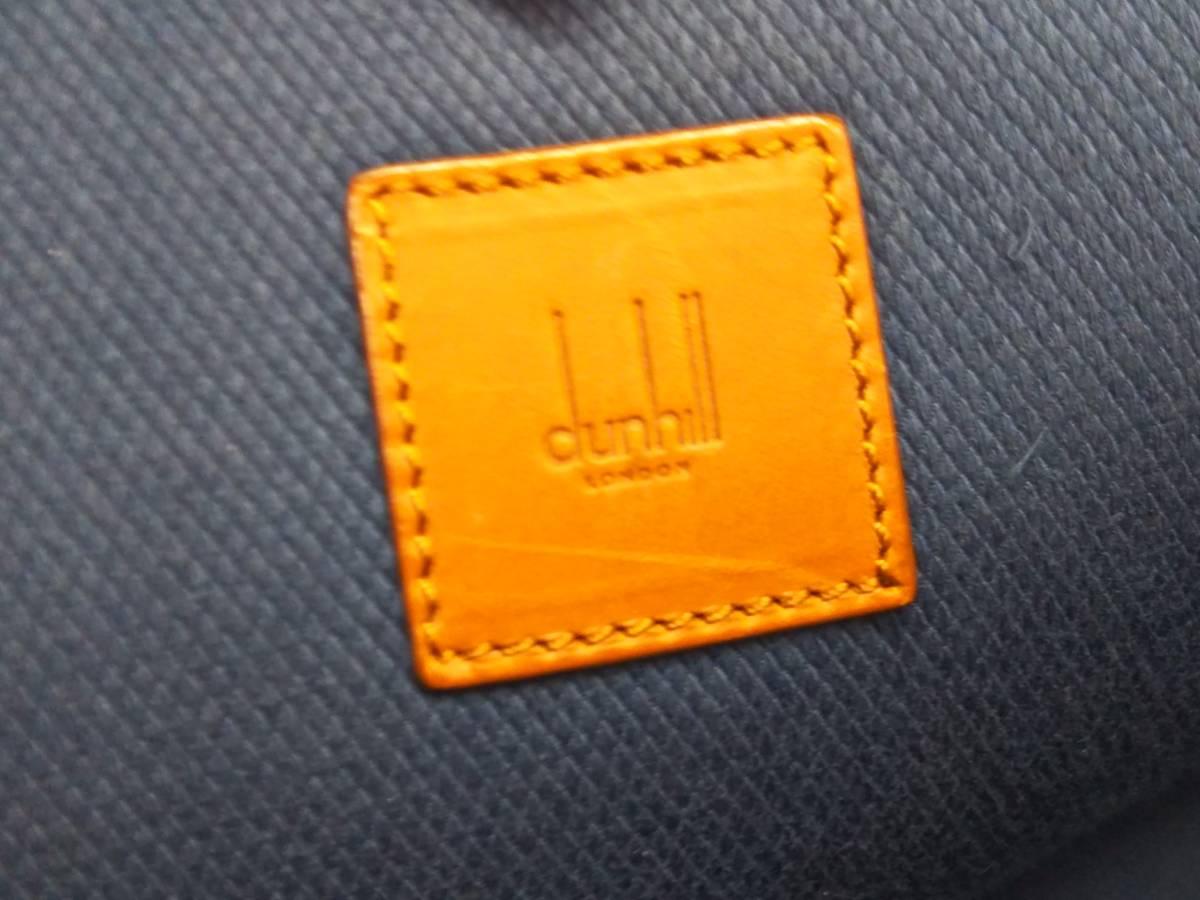 Dunhill ダンヒル ビジネスバッグ ブリーフケース ハンドバッグ レザー ブラウン メンズ_画像8