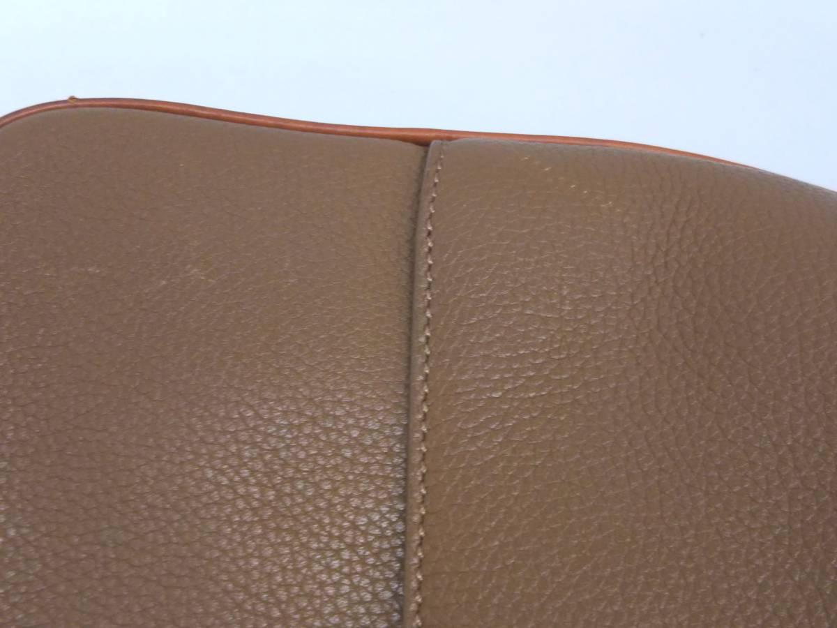 Dunhill ダンヒル ビジネスバッグ ブリーフケース ハンドバッグ レザー ブラウン メンズ_画像10