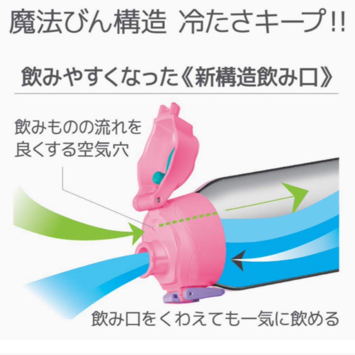 新品 サーモス 水筒 真空断熱スポーツボトル ピンクチェック 1.0L  THERMOS ステンレスボトル 女の子