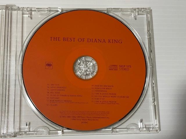 THE BEST OF DIANA KING  ダイアナ・キング CDのみ
