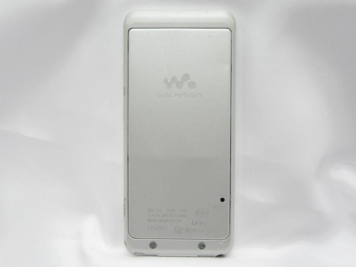 SONY ウォークマン NW-S14 8GB ホワイト 中古品 C4-18A_画像2