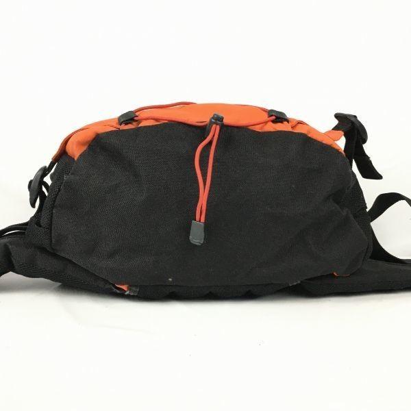 Coleman/コールマン ウエストポーチ ボディーバッグ オレンジ×黒 ロゴ 管NO.B8-41