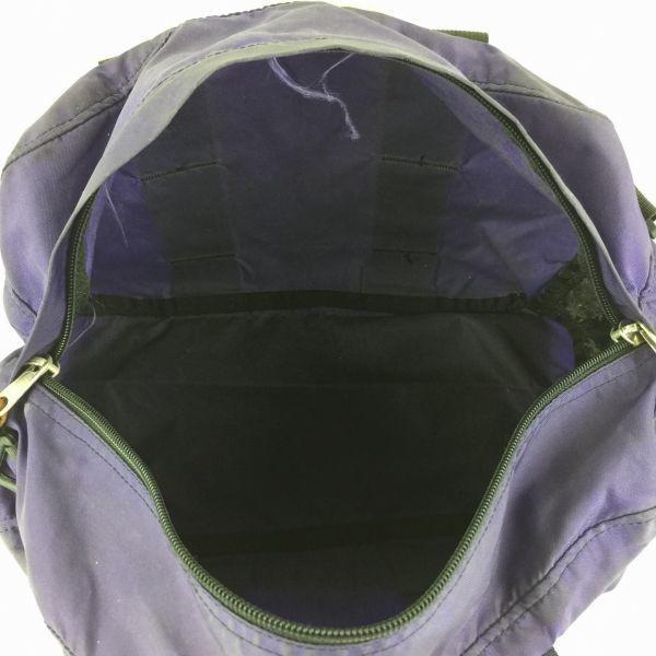 GREGORY グレゴリー/ハンド ショルダー ミニボストンバッグ/紫×黒/ナイロン/管NO.B12-3