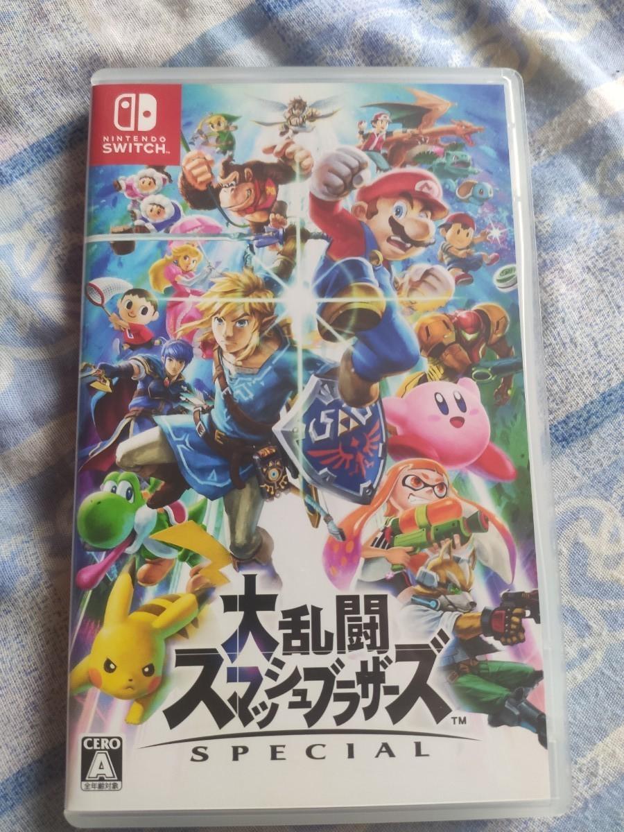 【スマブラ】大乱闘スマッシュブラザーズ SPECIAL  Nintendo Switch