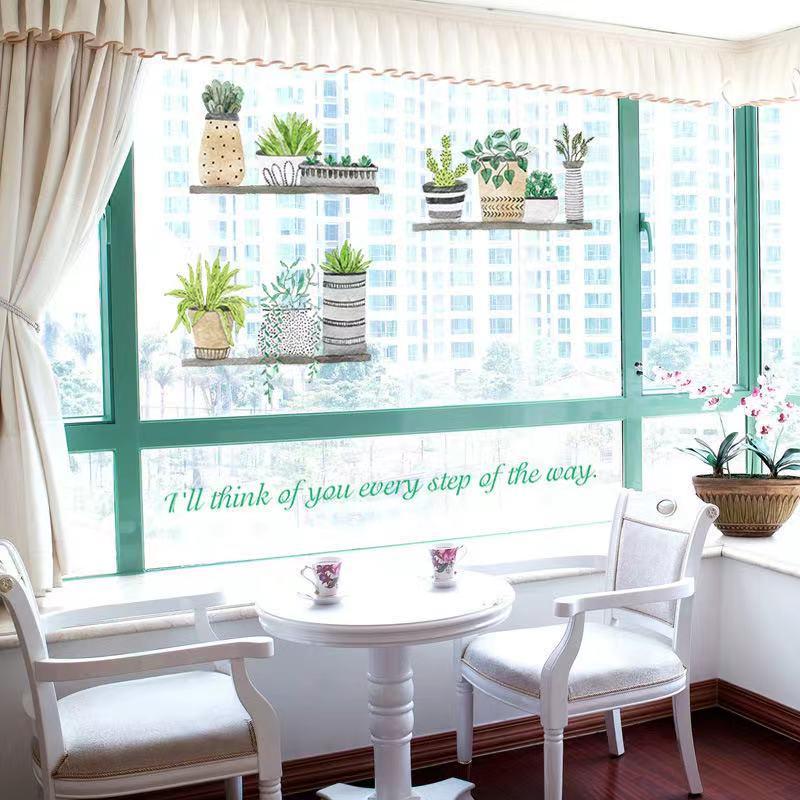 (NO.235)DIY剥がせる壁飾りウォールステッカー綺麗な仕上がり北欧風盆栽_画像4