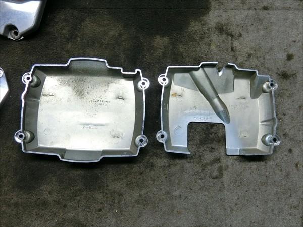ヤマハ ドラッグスター 400 4TR VH01J 純正 外装セット エンジン サイド カバー カウル メッキ_画像3