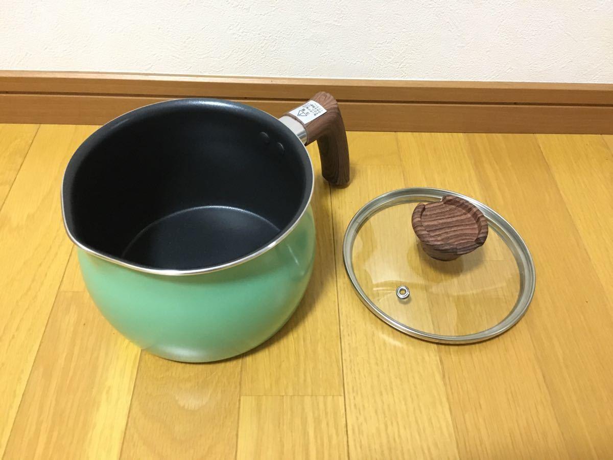 一台六役、ケトル、ミルクパン、片手鍋、フライパン便利なマルチポット15cm