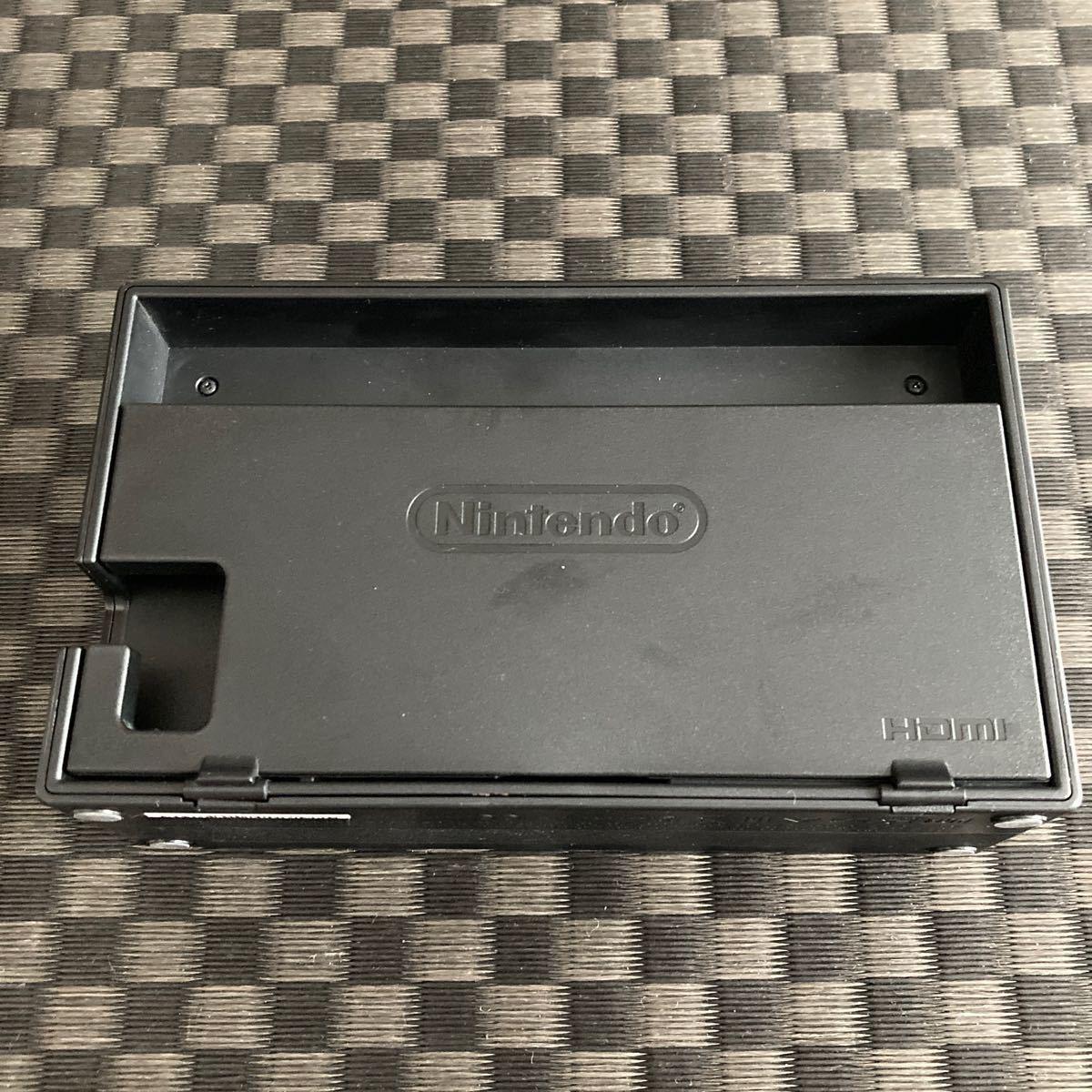 任天堂 純正品 Nintendo Switch ドック ニンテンドー スイッチ HAC-007