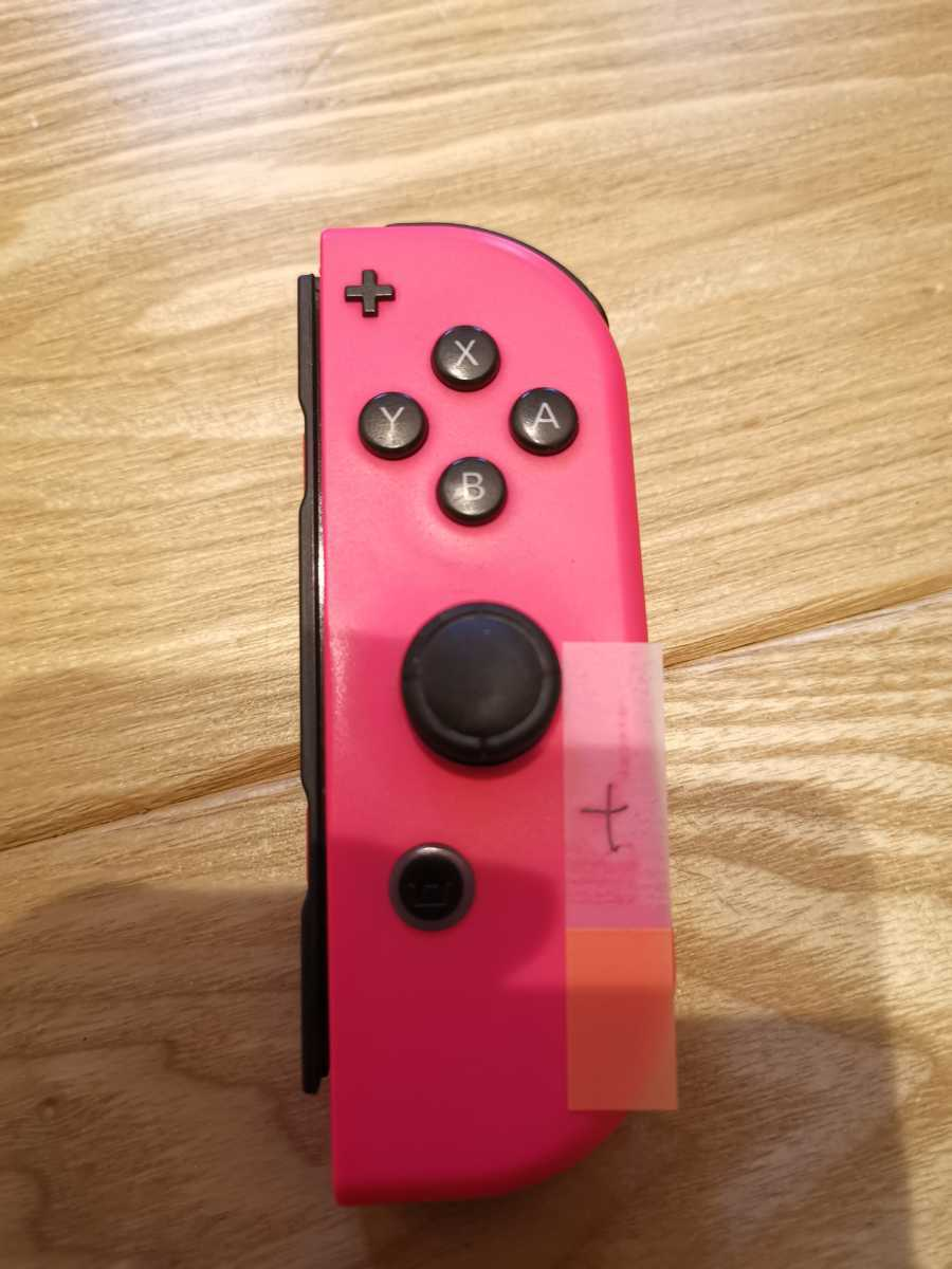 Nintendo Switch Joy-Con(R) ジョイコン 右 ネオンピンク