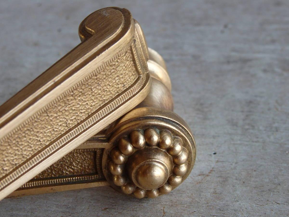 フランスアンティーク ドアノブ ブロンズ 青銅 ゴールド アトリエ 装飾 レリーフ 蚤の市 建具 ブロカント フレンチ 店舗_画像8