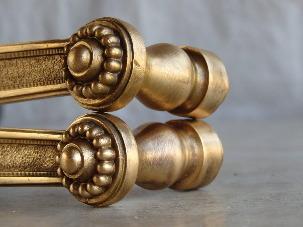 フランスアンティーク ドアノブ ブロンズ 青銅 ゴールド アトリエ 装飾 レリーフ 蚤の市 建具 ブロカント フレンチ 店舗_画像10