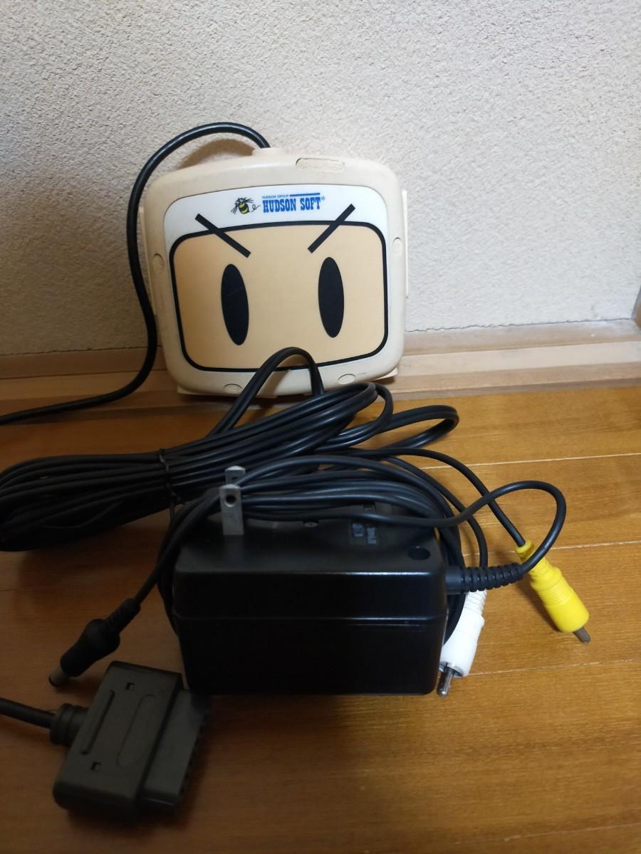 スーパーファミコン本体カセット8本セット(ボンバーマンマルチタップ付)