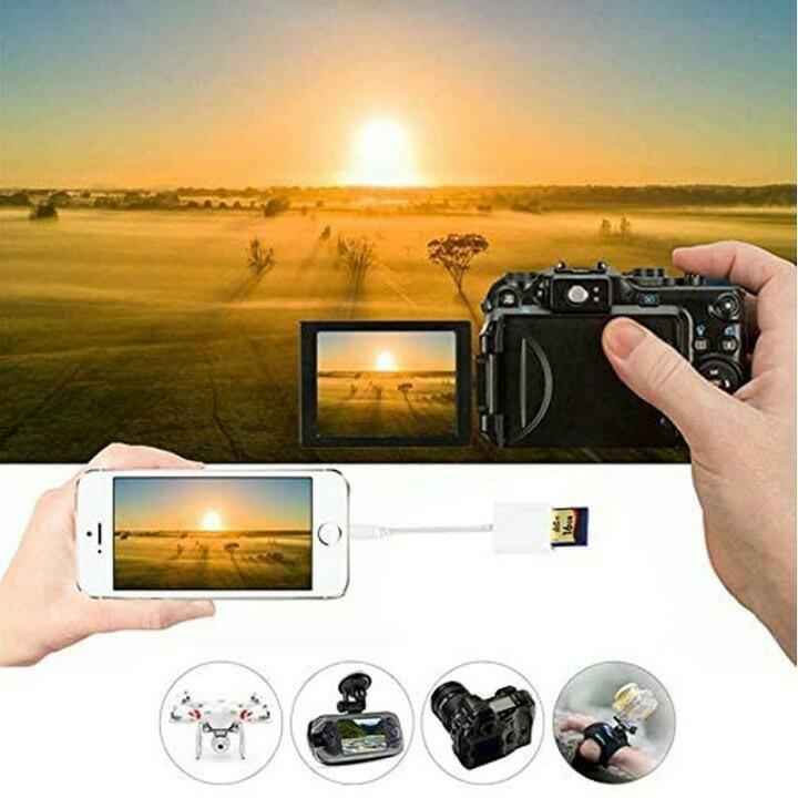 iPhone iPad専用 Lightning SDカードカメラリーダー